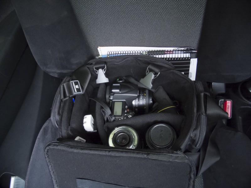D90, in it's bag